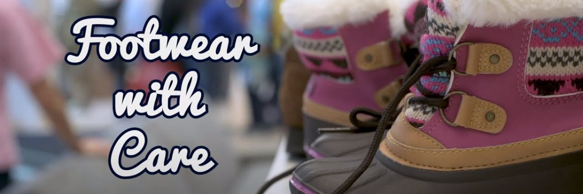 Footwear with Care | UConn Hartford